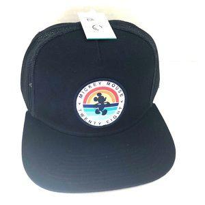 Navy blue NEFF Mickey Mouse SnapBack hat NWT!